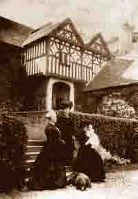 The Trafford family at Michaelchurch Court c.1910