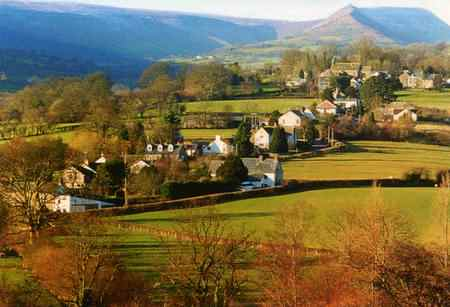 Longtown nestles below the Black Mountains